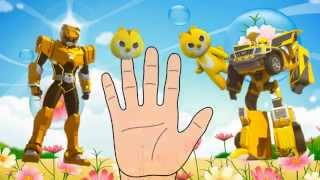 mini force cartoon theme song Finger Family Song youtube transformers