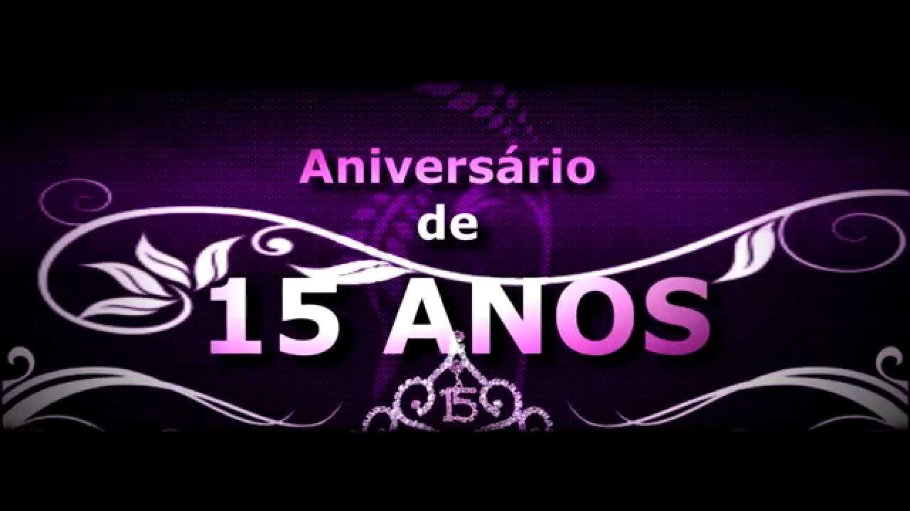Convite De Aniversario Evangelica Para 15 Anos: Abertura Para DVD De Aniversário De 15 Anos ( PS CS6