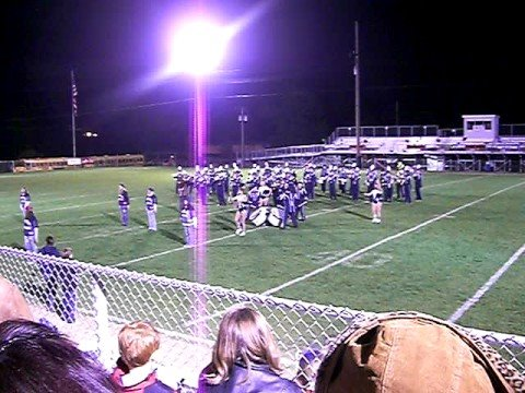 Rootstown Marching Band - Rittman Band Show 2008