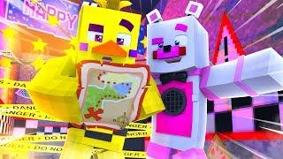Freddy's Pizza World Scavenger Hunt - Minecraft FNAF Roleplay