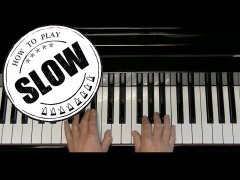 Nobody Knows The Trouble I've Seen - Alfred's Basic Adult Piano Course Level 2 - Langzaam Slow