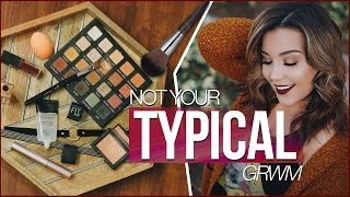 Fall Get Ready with Me!   Makeup + Outfit Idea!