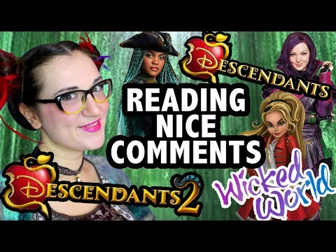 Disney Descendants 2 Characters Read Nice Comments - Madi2theMax
