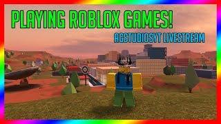 🔴 CÓRREGO da variedade de ROBLOX (simulador da velocidade, jailbreak, construa um barco para o tesouro e mais!)