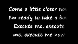 Medina - Execute me Lyrics