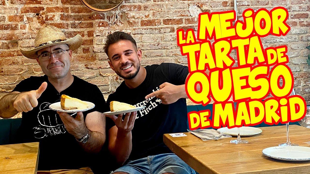 Probando La MEJOR TARTA de QUESO de MADRID según CENANDO con PABLO