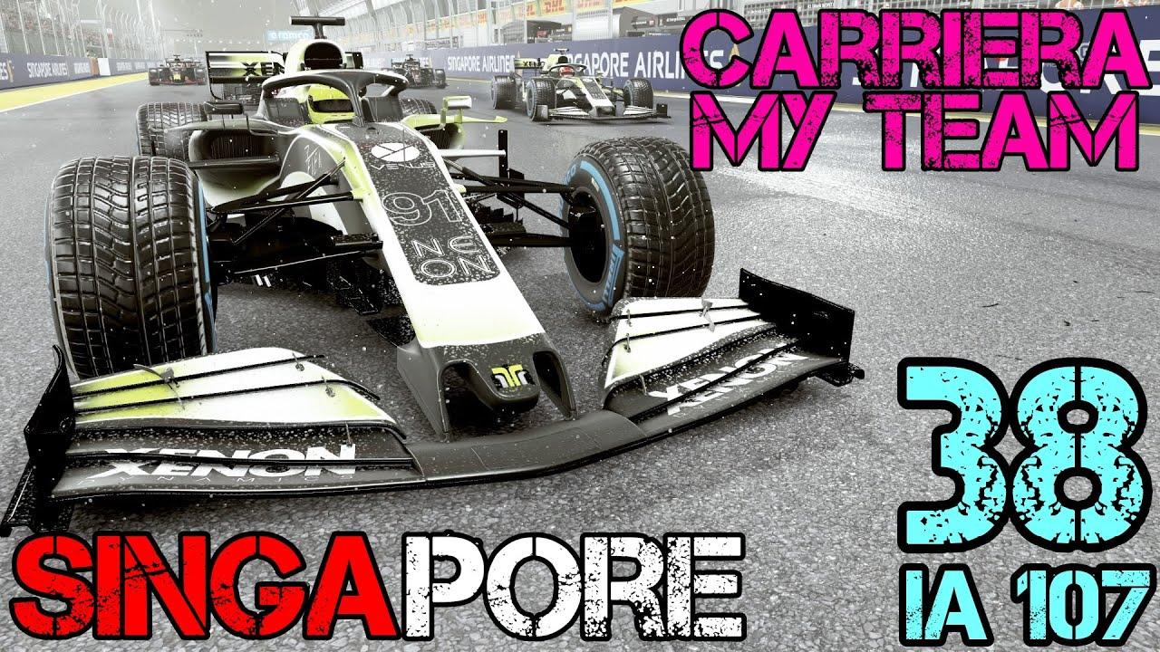 F1 2020 Carriera scuderia (#38): METEO PAZZERELLO! Gameplay ITA - GP SIngapore - 50% race