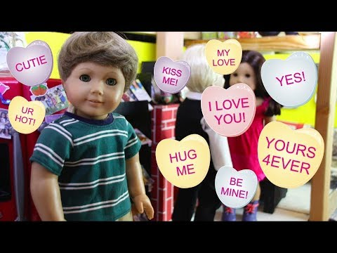 How To Flirt! (American Girl Doll Stopmotion)