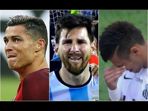 MOMENT CRYING ● C.Ronaldo ● Neymar ● Messi ● Ronaldinho |HD