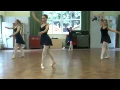 ballet dance routine