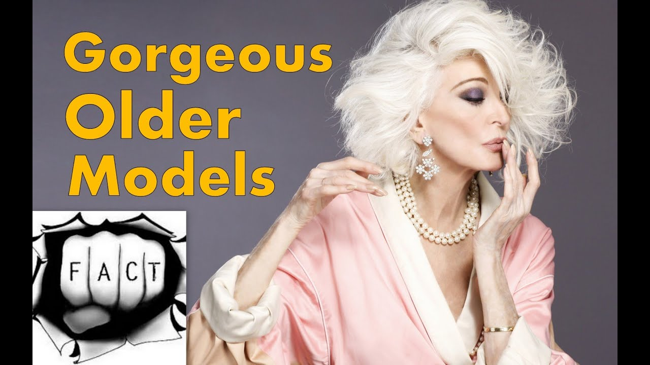 15 gorgeous older models who are absolutely beautiful - youtube
