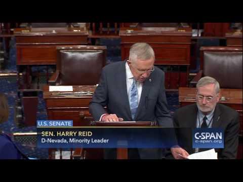 Senator Harry Reid on President-elect Trump