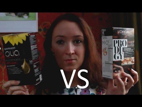 Мой опыт окрашивания волос: Garnier Olia vs. Loreal Prodigy