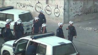 A heroic stand by Ahmed Farhan's (martyr) sister for the arrest of her uncle.Bahrain 25/7/2011