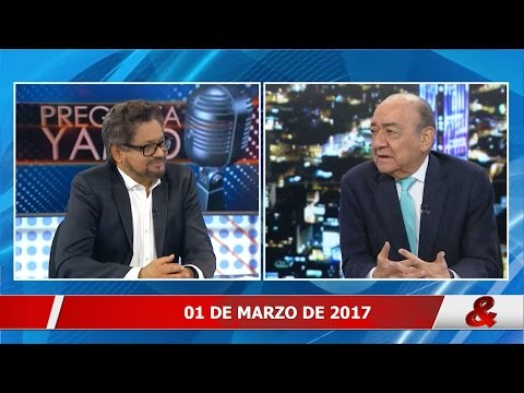 Pregunta Yamid: Iván Márquez / Jefe negociador de las Farc