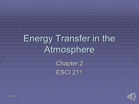 Energy Transfer in the Atmosphere 142