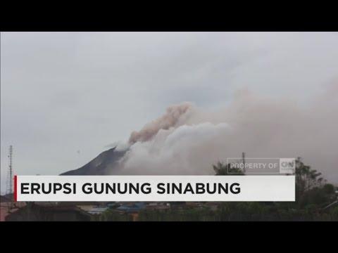 Kembali Erupsi, Status Gunung Sinabung di Level Awas