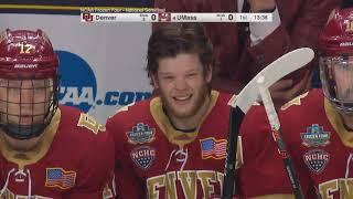 Denver vs UMass Hockey 2019 Men's Frozen Four Semifinal