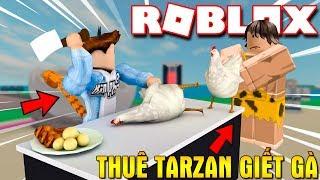 Roblox | BECOME The HUNTER To KILL The CHICKEN EGGS To HIRE EXTRA Egg-Farm Simulator DO TARZAN | Kia Breaking