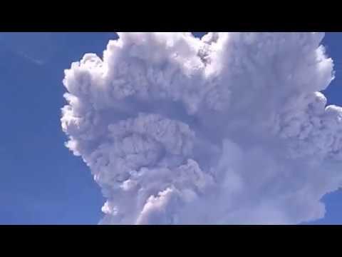 Indonesia: Mount Sinabung Eruption