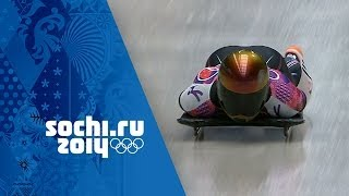 Skeleton - Men's Heats 1 & 2 | Sochi 2014 Winter Olympics