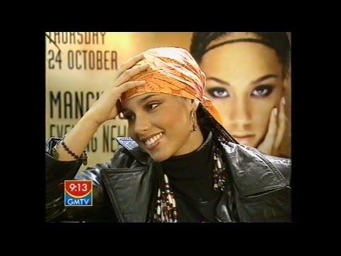 Alicia Keys - Interview GMTV 2002