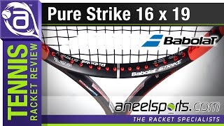 BABOLAT Pure Strike 16 x 19, Tennis Racket Review - AneelSports.com
