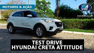 Test Drive Hyundai Creta Attitude 1.6 Manual |Review| motoreseacao