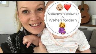 Geburtsvorbereitung und Wehen fördern