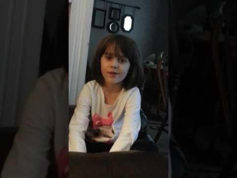 Ryan Upchurch biggest littlest fan 6 yr old girl rollin