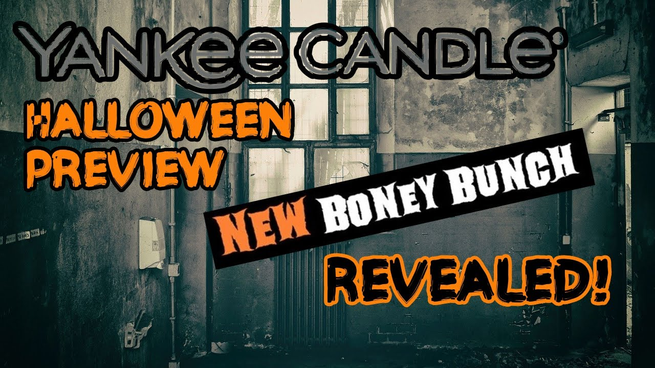 Preview Halloween 2020 Yankee Candle Halloween Preview + BONEY BUNCH REVEALED