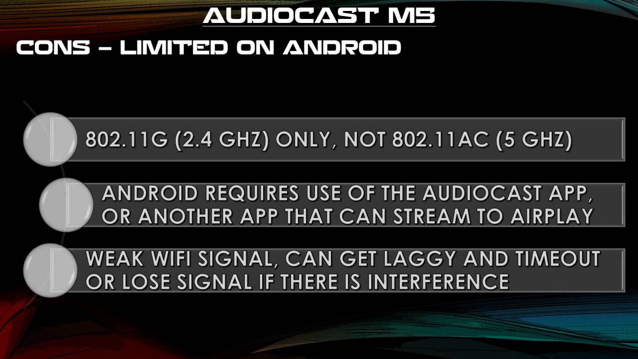 AudioCast M5 Review - Music EVERYWHERE