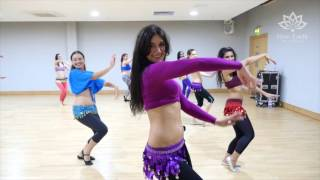 Level 1 Belly Dance in the studio @ Fleur Estelle Dance School