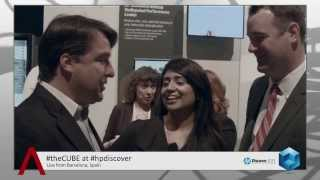 HP Storage Launch - HP Discover Barcelona 2013 - theCUBE - #HPDiscover
