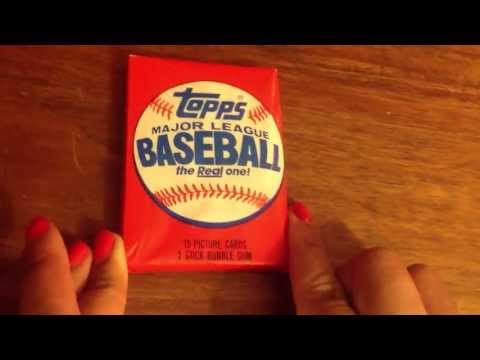 Wax Pack Party!  1985 Topps Third Pack