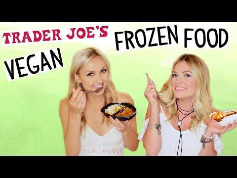TRADER JOE'S VEGAN FROZEN FOOD TASTE TEST!