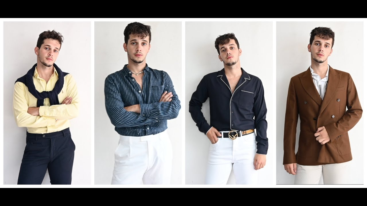 [VIDEO] - MEN SMART SUMMER LOOKS | A WEEK IN OUTFITS - MEN SUMMER OUTFIT IDEAS 8