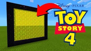 How To Make A Portal To The Toy Story 4 Dimension in Minecraft!