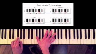 How to play: Adele - Someone like you. Original Piano lesson. Tutorial by Piano Couture.