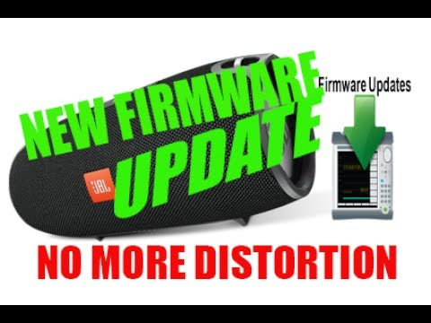 JBL Xtreme - NEW Firmware UPDATE - NO MORE DISTORTION [2017]