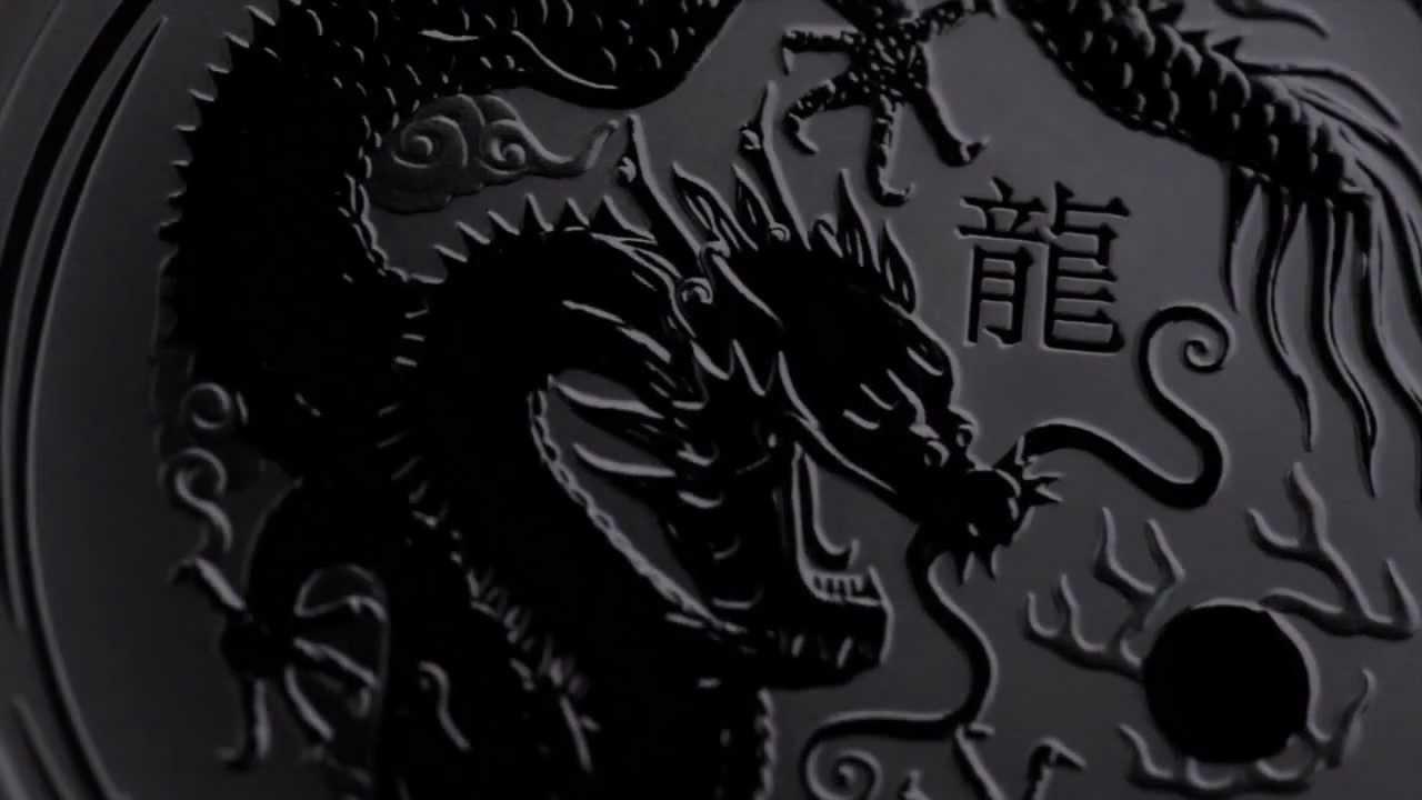Lunar Drachen (Dragon) II 1 oz Silbermünze 2012 bei 321goldundsilbershop.de