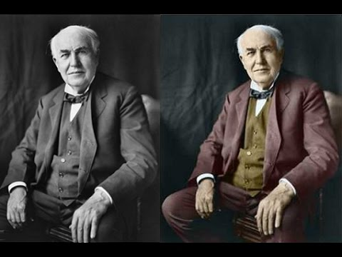 How to colorize a black and white photo in photoshop hindi urdu