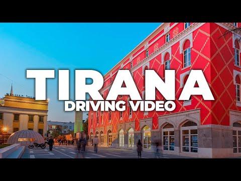 TIRANA 2021 | DRIVING VIDEO
