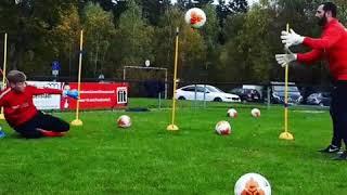Футбол тренировки вратаря