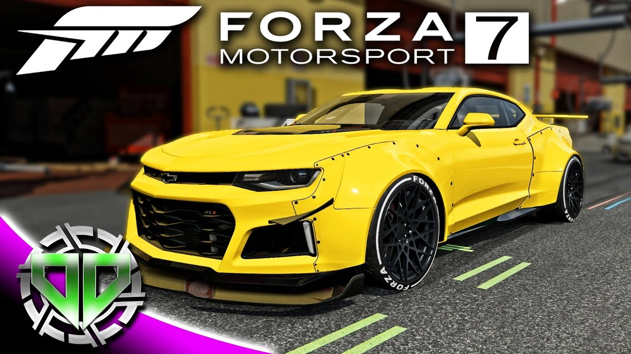 forza motorsport 7 gameplay 2017 chevy camaro zl1 forza edition pc let 39 s play youtube. Black Bedroom Furniture Sets. Home Design Ideas