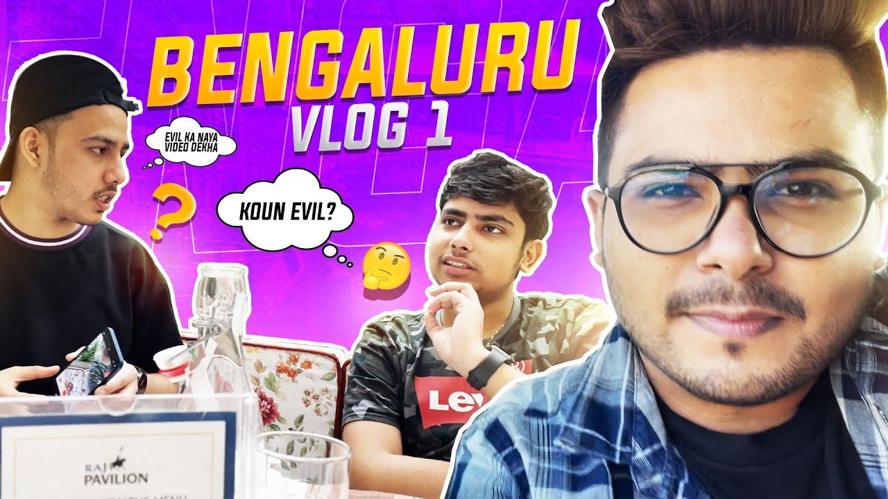 FFIC DAY 1 - Delhi To Bengaluru - Evil || VLOG
