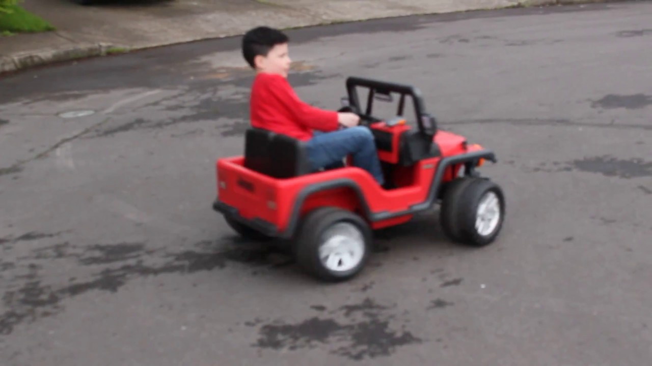 24 volt Power Wheels Jeep!