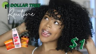 Bomb Wash & Go Using DOLLAR STORE PRODUCTS?!!!