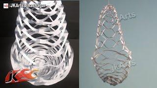 DIY Easy paper Lantern chandelier Decoration | How to make | JK Arts 586