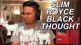 EMINEM - YAH YAH REACTION & BREAKDOWN!!   EM ROYCE AND BLACK THOUGHT TOGETHER!! 3 GOATS!!
